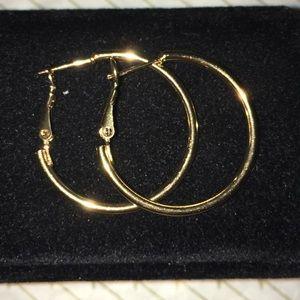 Hoop earrings L + M + S